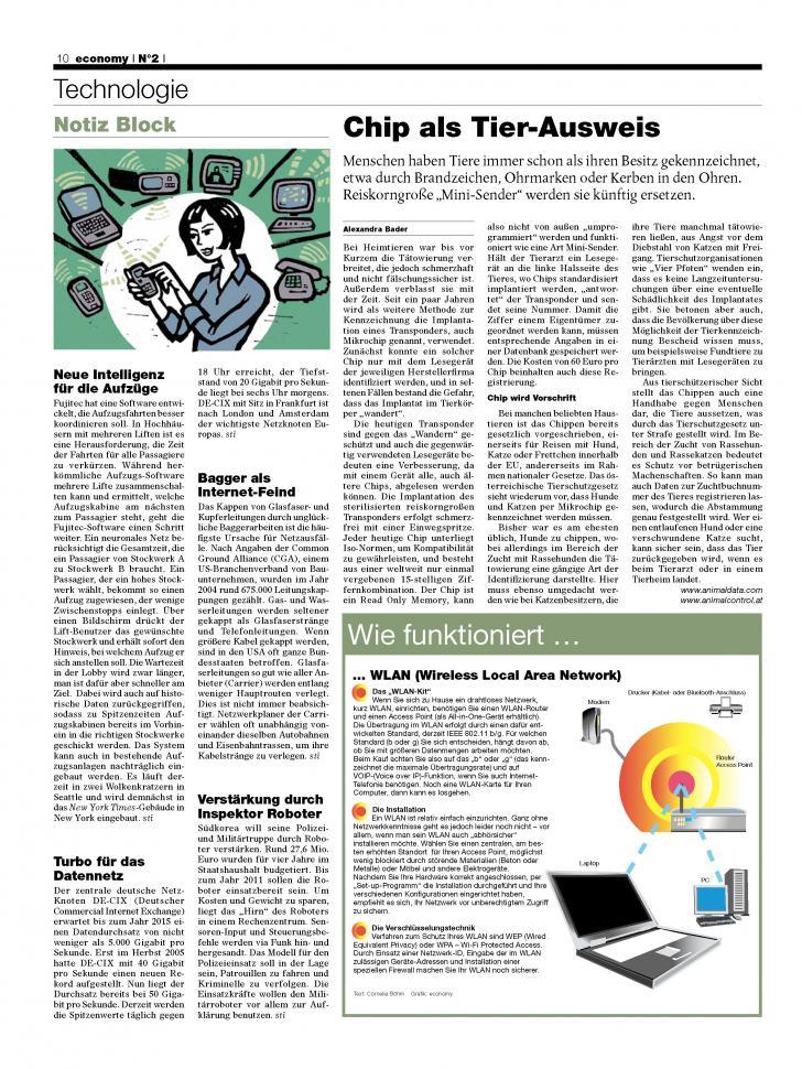 Heft Ausgabe Nr. 02 - Seite 10