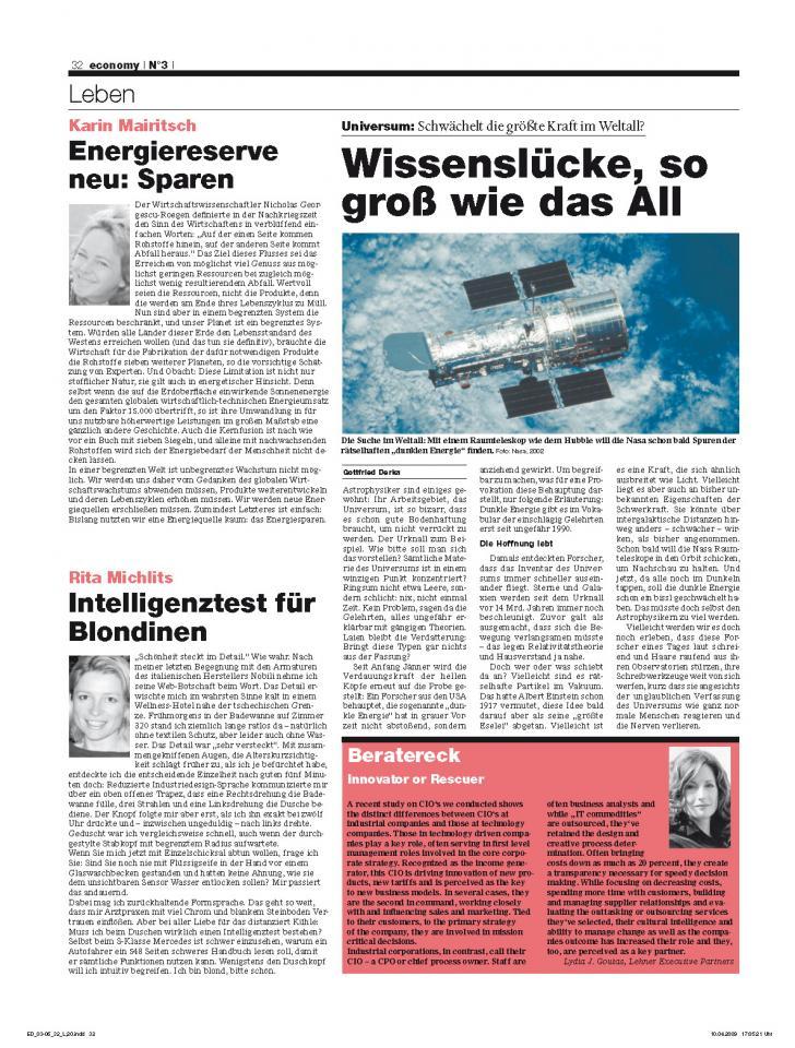 Heft Ausgabe Nr. 03 - Seite 32