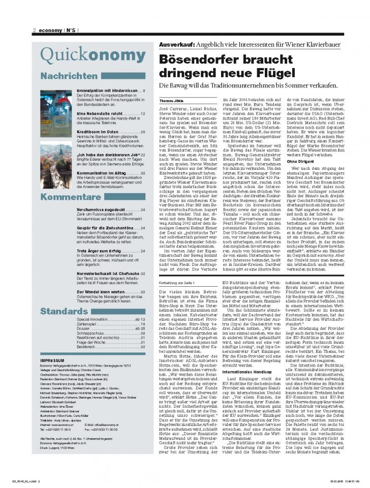 Heft Ausgabe Nr. 05 - Seite 2