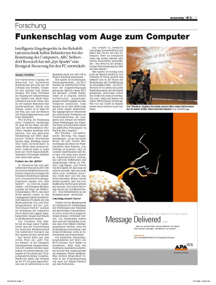Heft Ausgabe Nr. 05 - Seite 7