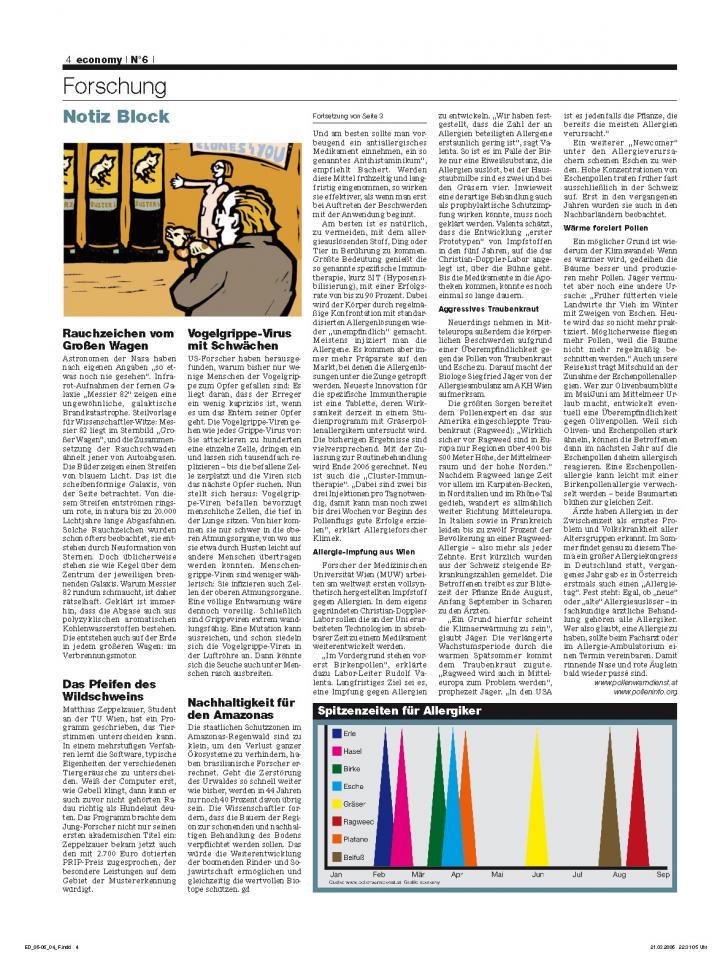 Heft Ausgabe Nr. 06 - Seite 4