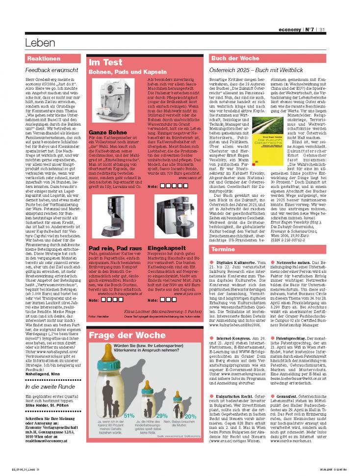 Heft Ausgabe Nr. 07 - Seite 31