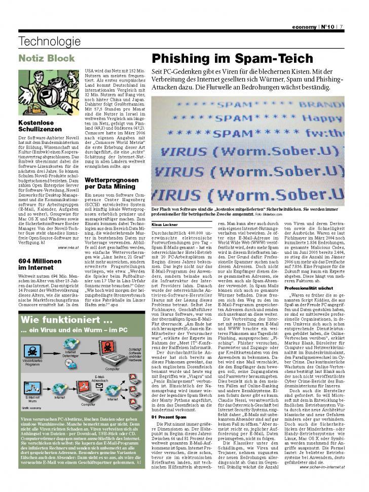 Heft Ausgabe Nr. 10 - Seite 7