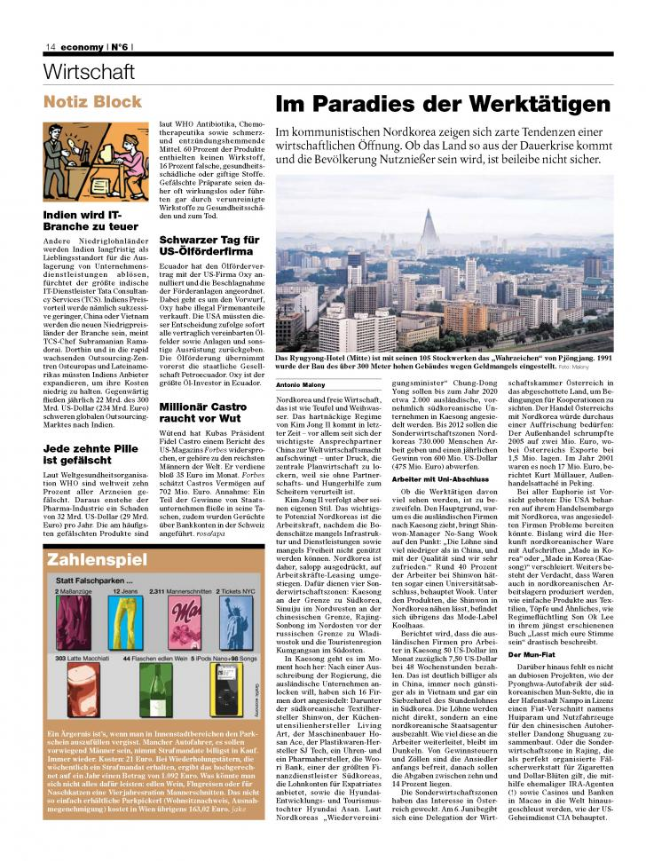 Heft Ausgabe Nr. 10 - Seite 14