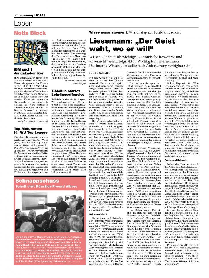 Heft Ausgabe Nr. 10 - Seite 22