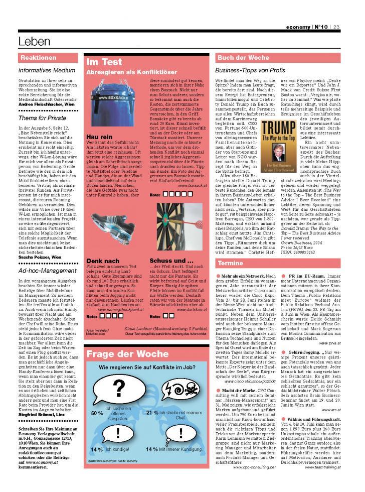 Heft Ausgabe Nr. 10 - Seite 23