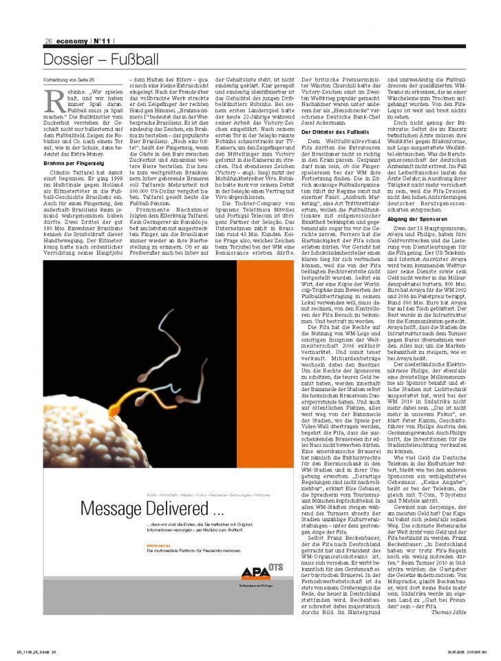 Heft Ausgabe Nr. 11 - Seite 26