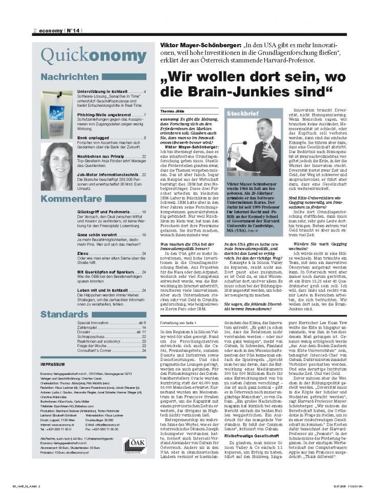 Heft Ausgabe Nr. 14 - Seite 2
