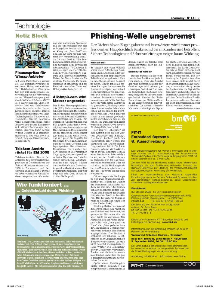 Heft Ausgabe Nr. 14 - Seite 7
