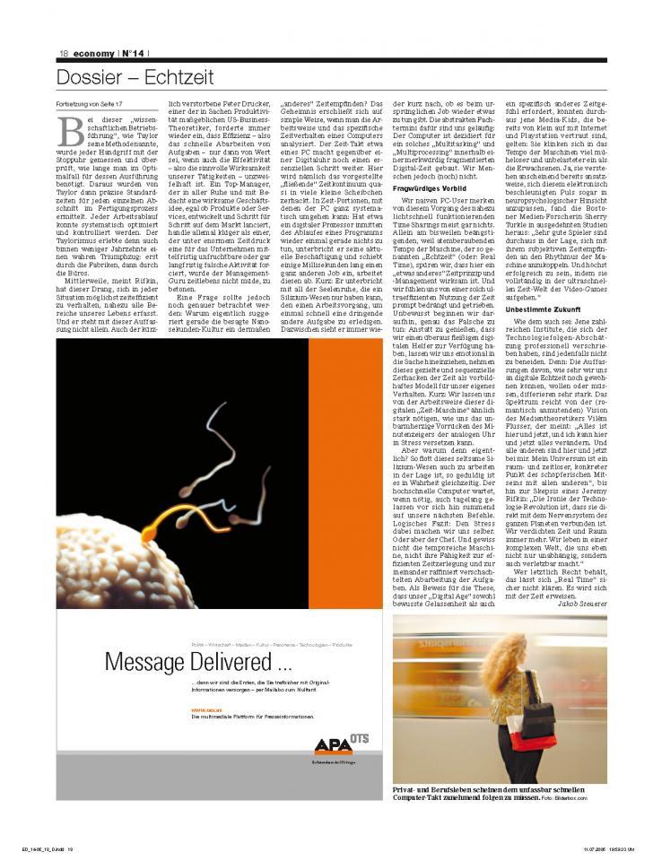 Heft Ausgabe Nr. 14 - Seite 18