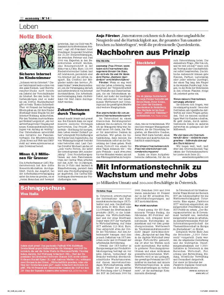 Heft Ausgabe Nr. 14 - Seite 22