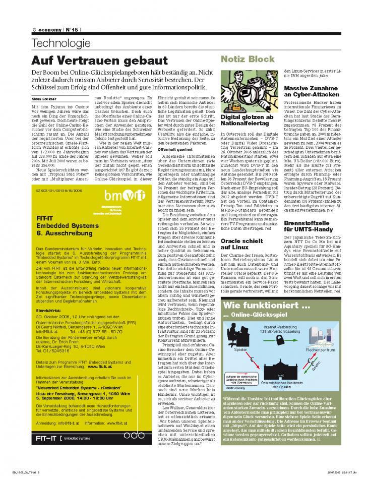 Heft Ausgabe Nr. 15 - Seite 8