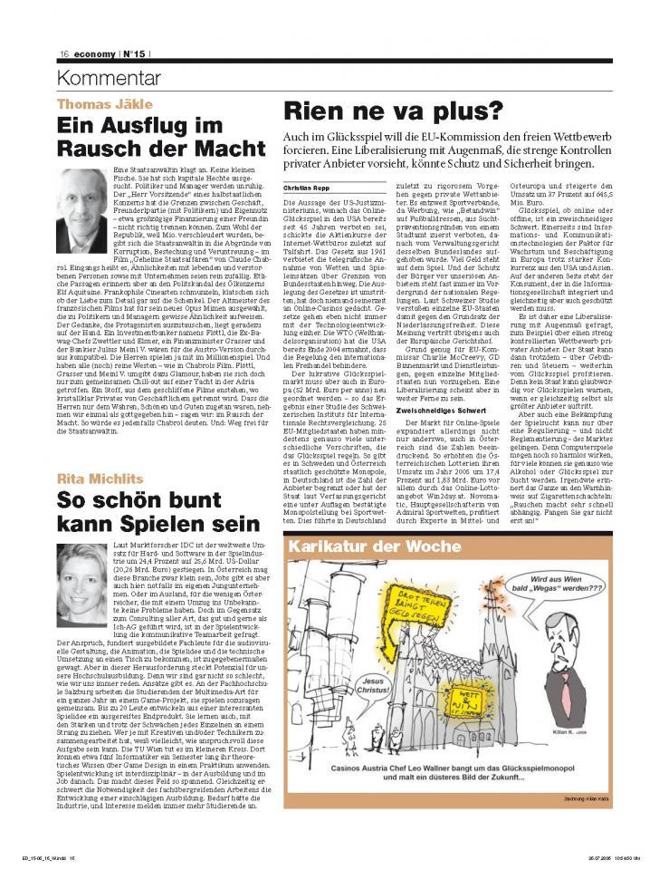Heft Ausgabe Nr. 15 - Seite 16