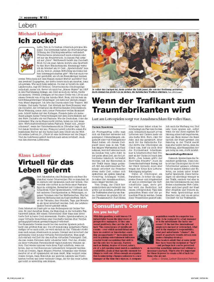 Heft Ausgabe Nr. 15 - Seite 24