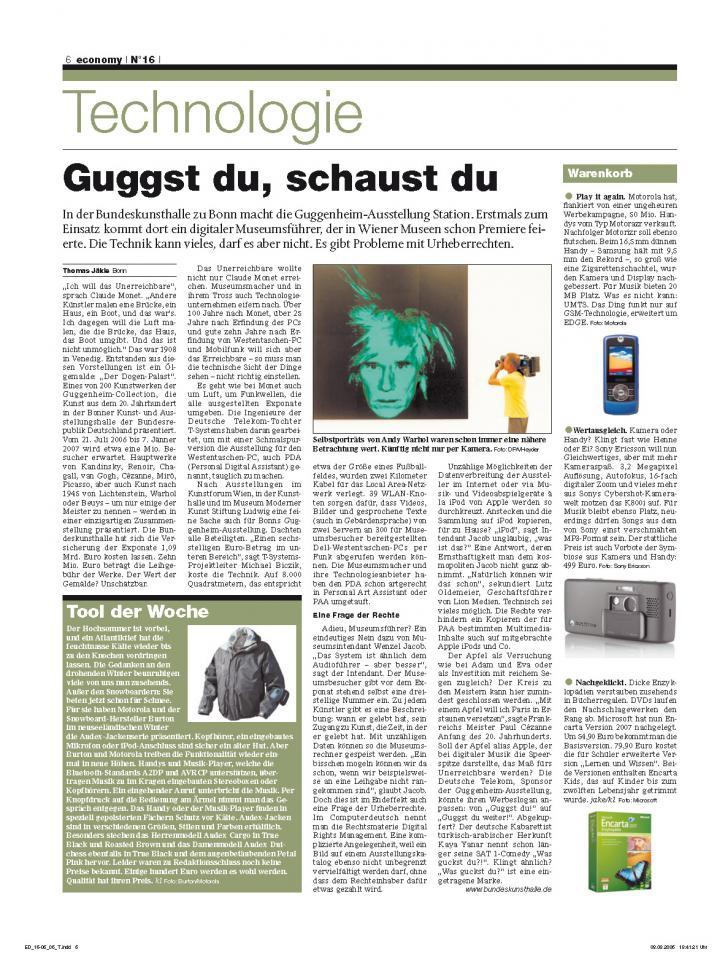 Heft Ausgabe Nr. 16 - Seite 6