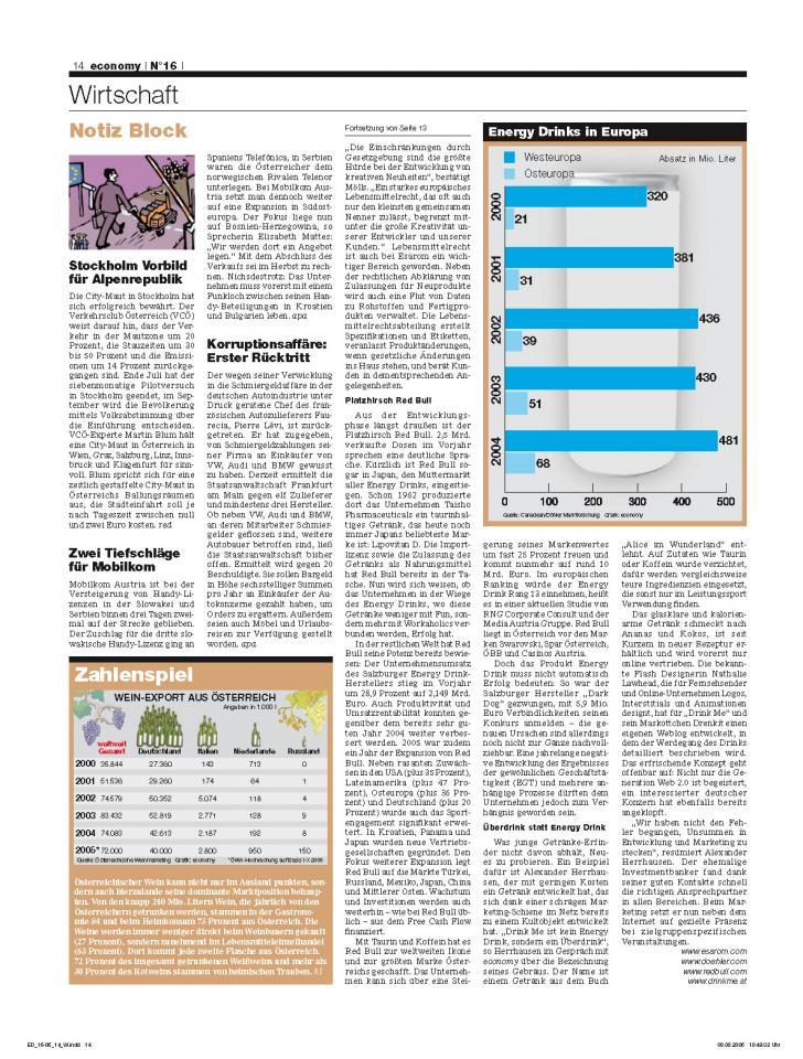 Heft Ausgabe Nr. 16 - Seite 14
