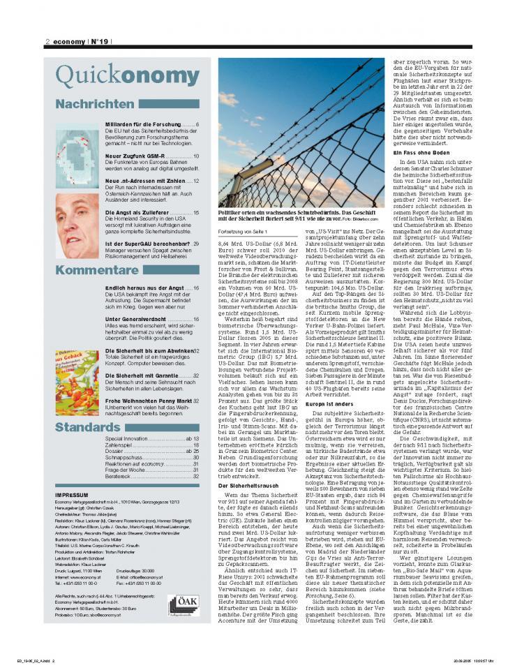 Heft Ausgabe Nr. 19 - Seite 2