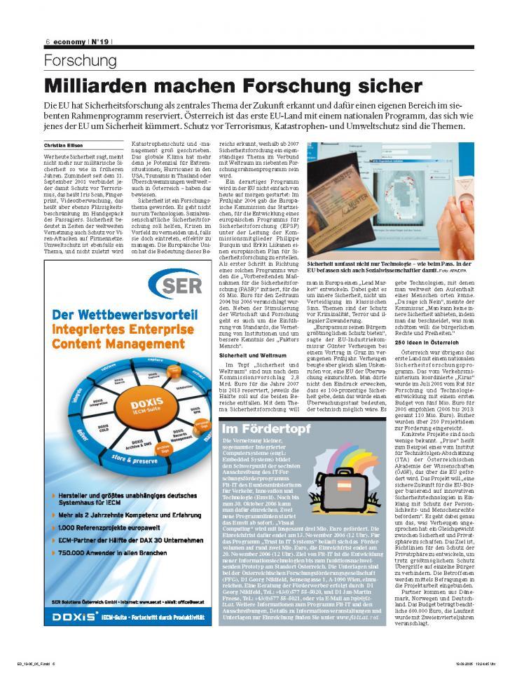 Heft Ausgabe Nr. 19 - Seite 6