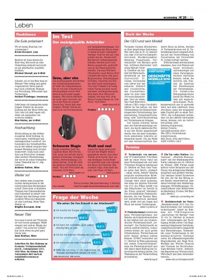 Heft Ausgabe Nr. 20 - Seite 31