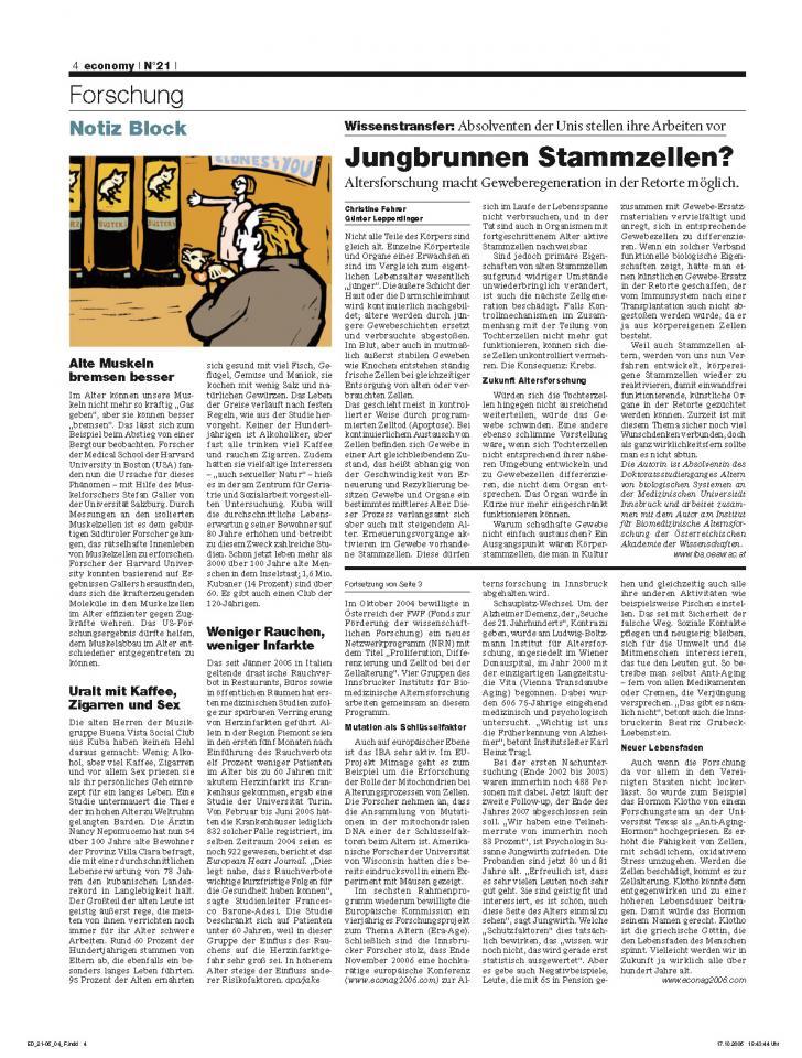 Heft Ausgabe Nr. 21 - Seite 4