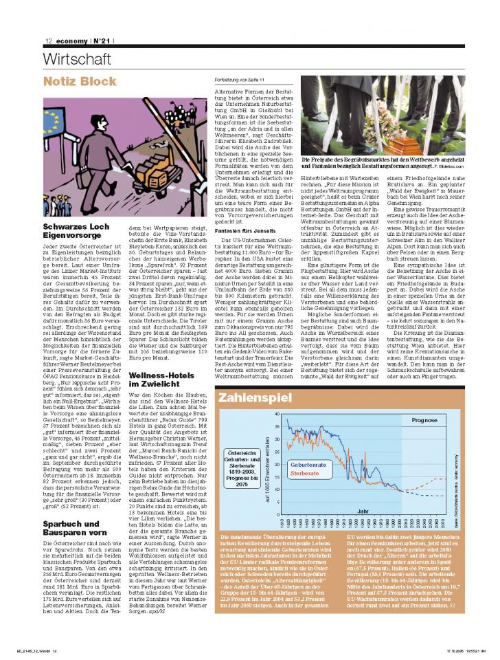 Heft Ausgabe Nr. 21 - Seite 12