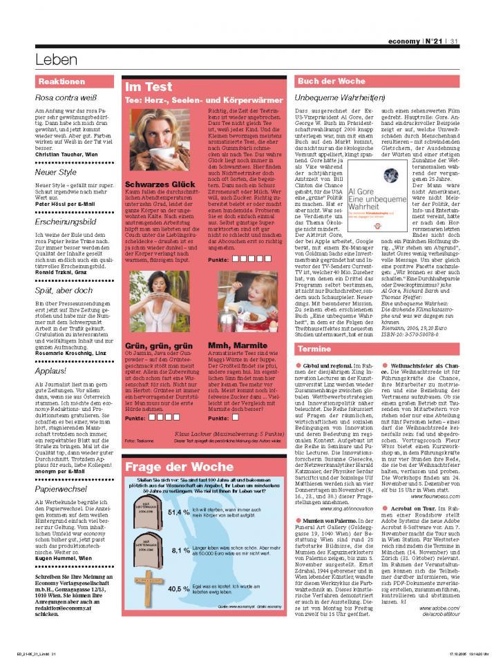 Heft Ausgabe Nr. 21 - Seite 31