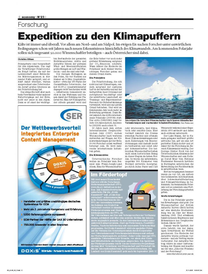 Heft Ausgabe Nr. 23 - Seite 6