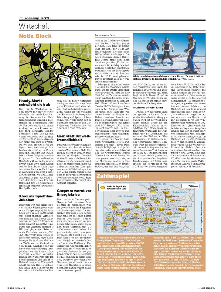 Heft Ausgabe Nr. 23 - Seite 12