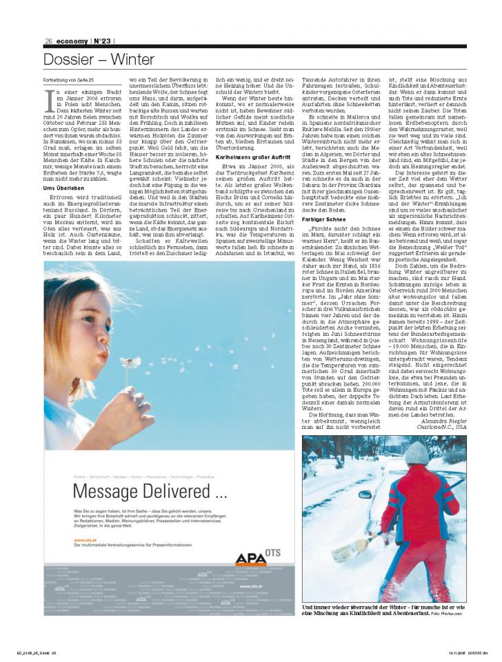 Heft Ausgabe Nr. 23 - Seite 26