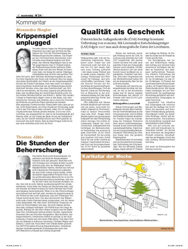 Heft Ausgabe Nr. 24 - Seite 16