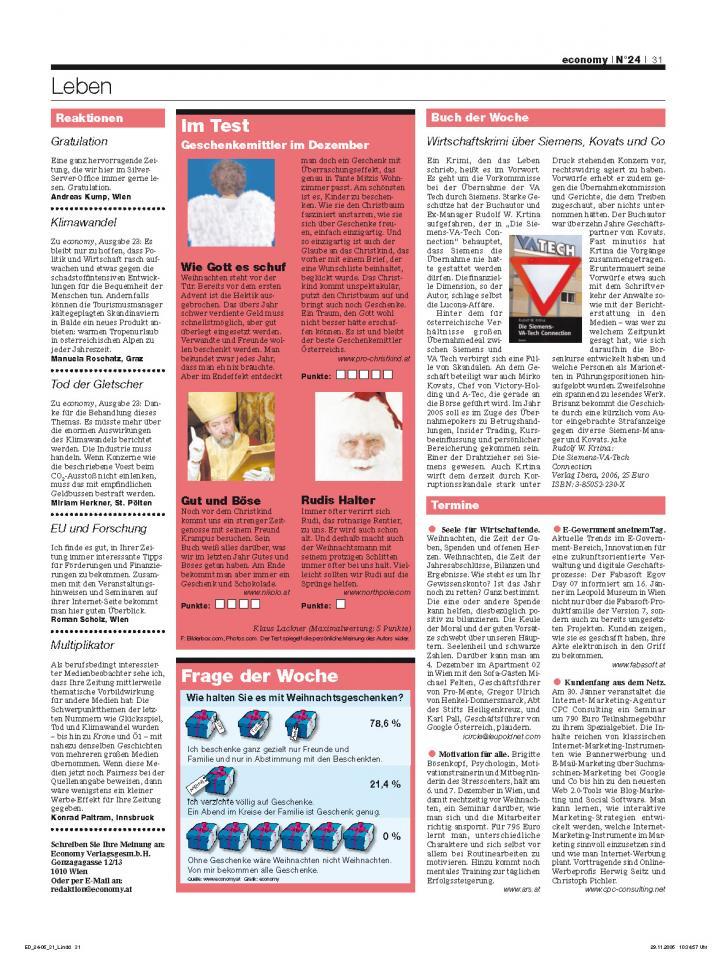 Heft Ausgabe Nr. 24 - Seite 31