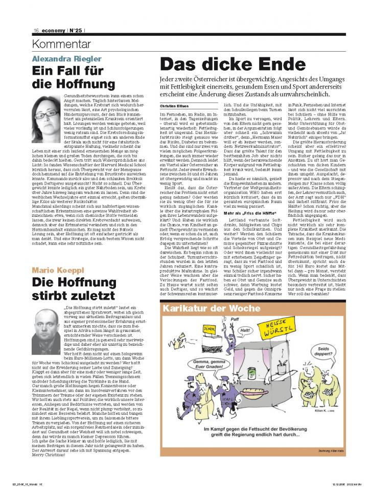 Heft Ausgabe Nr. 25 - Seite 16