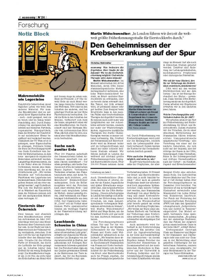 Heft Ausgabe Nr. 26 - Seite 4
