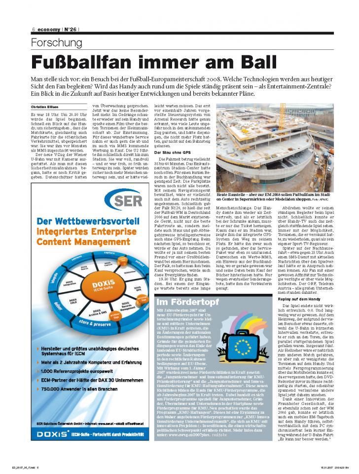 Heft Ausgabe Nr. 26 - Seite 6