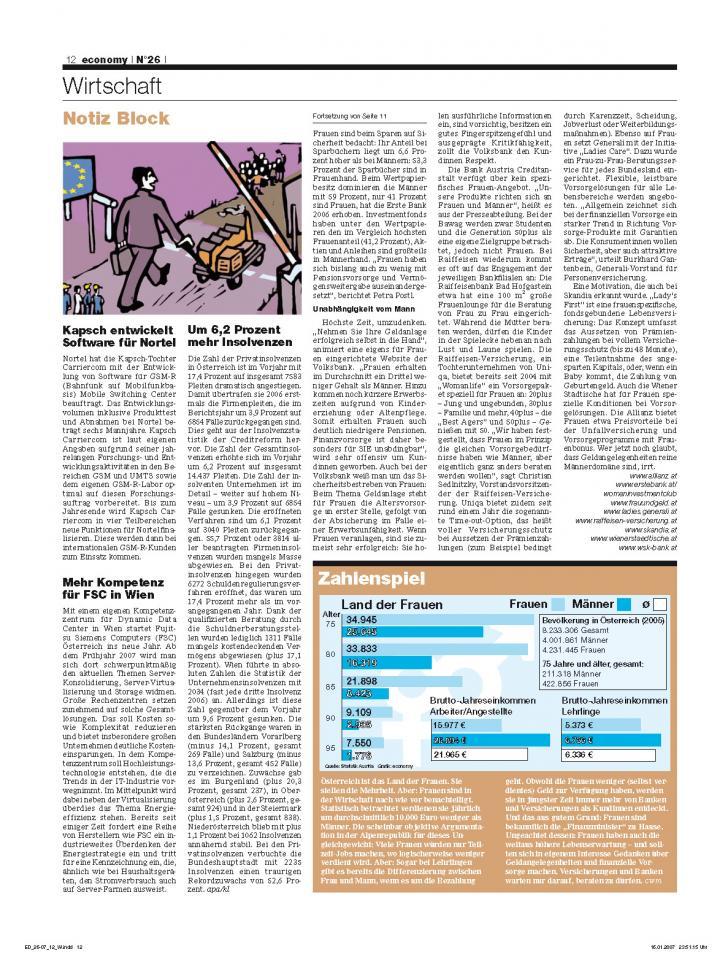 Heft Ausgabe Nr. 26 - Seite 12