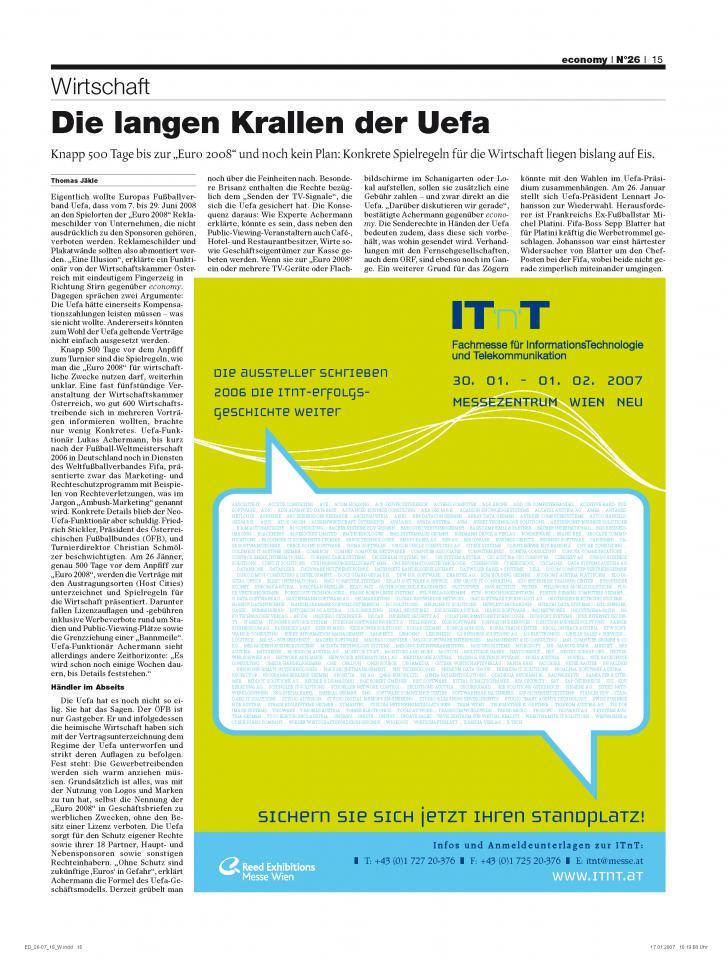 Heft Ausgabe Nr. 26 - Seite 15