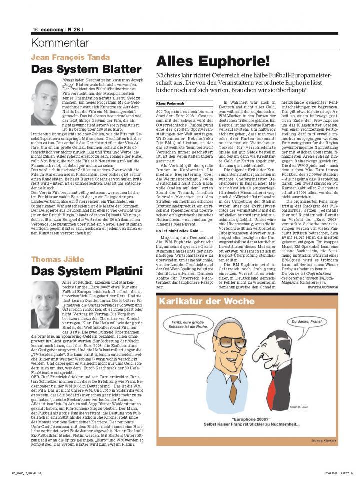 Heft Ausgabe Nr. 26 - Seite 16