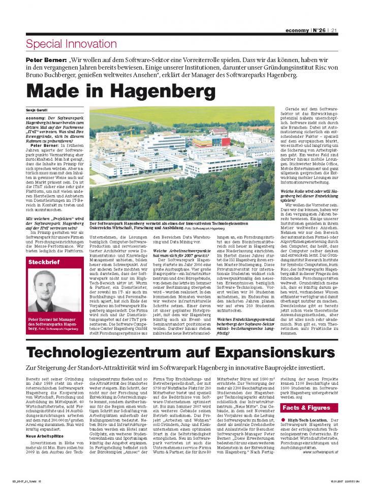 Heft Ausgabe Nr. 26 - Seite 21