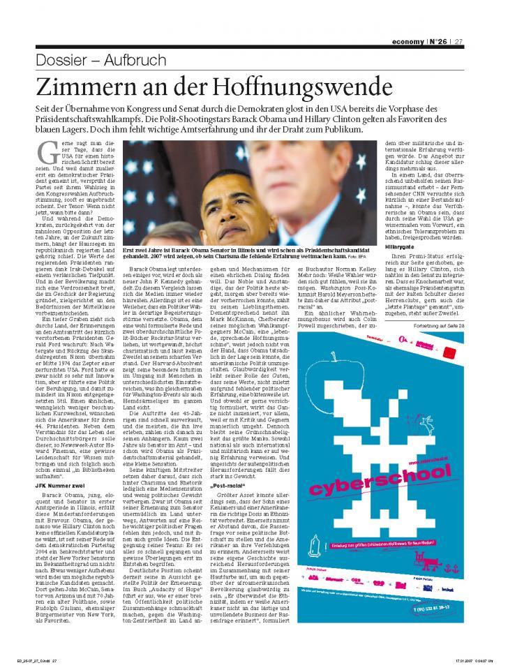 Heft Ausgabe Nr. 26 - Seite 27