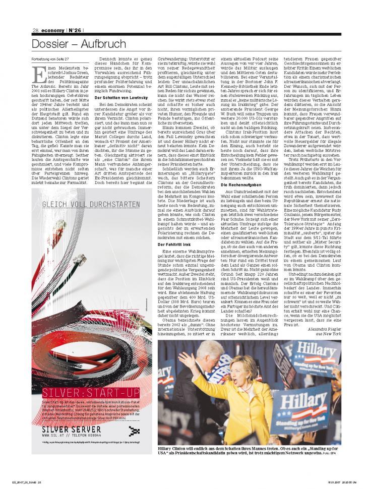 Heft Ausgabe Nr. 26 - Seite 28