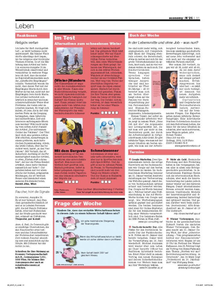 Heft Ausgabe Nr. 26 - Seite 31