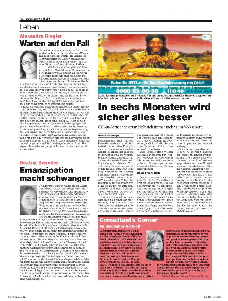 Heft Ausgabe Nr. 26 - Seite 32