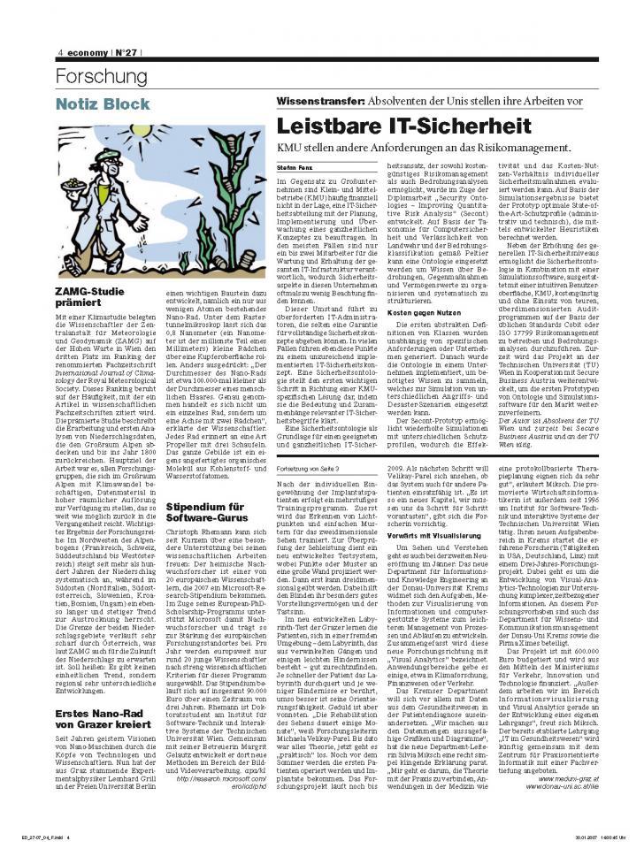 Heft Ausgabe Nr. 27 - Seite 4