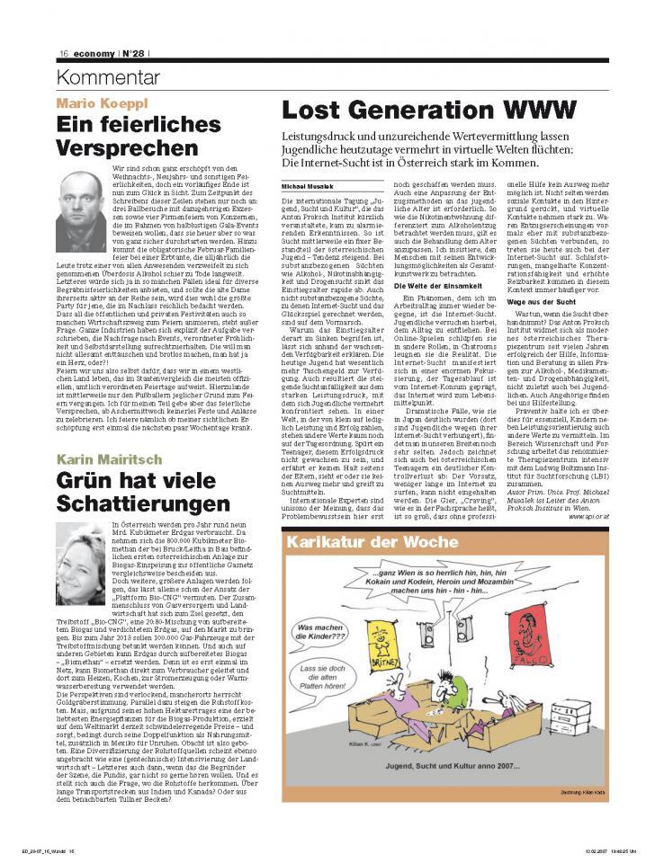 Heft Ausgabe Nr. 28 - Seite 16