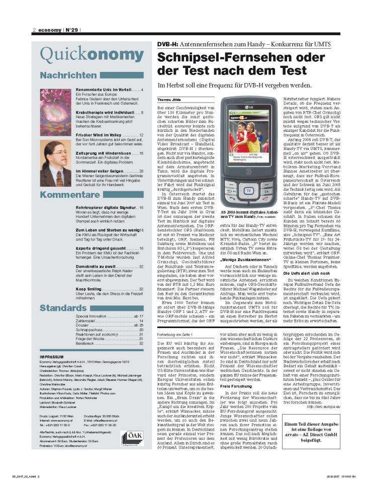 Heft Ausgabe Nr. 29 - Seite 2