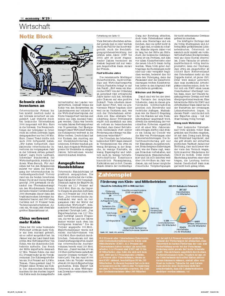 Heft Ausgabe Nr. 29 - Seite 14