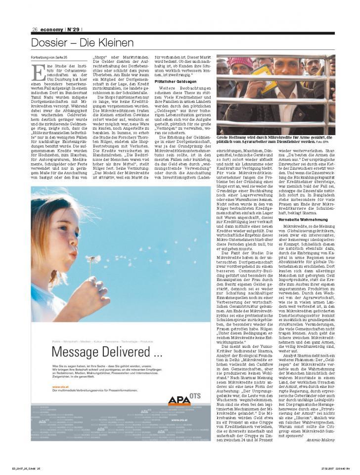 Heft Ausgabe Nr. 29 - Seite 26