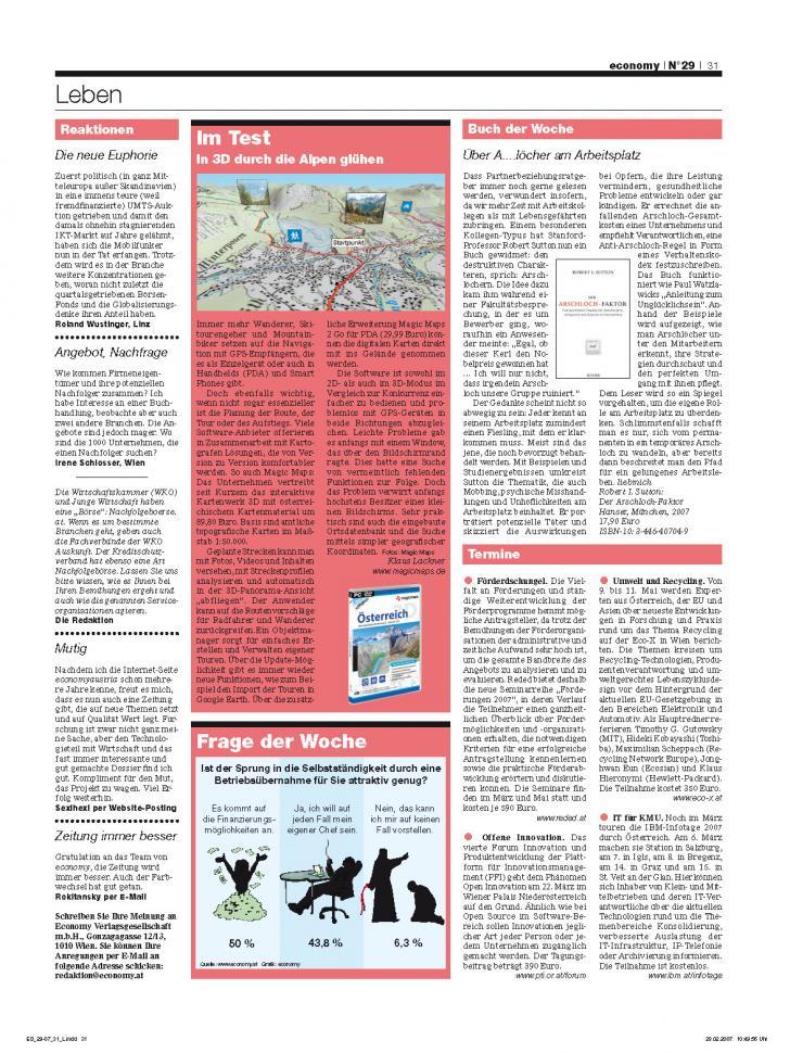 Heft Ausgabe Nr. 29 - Seite 31