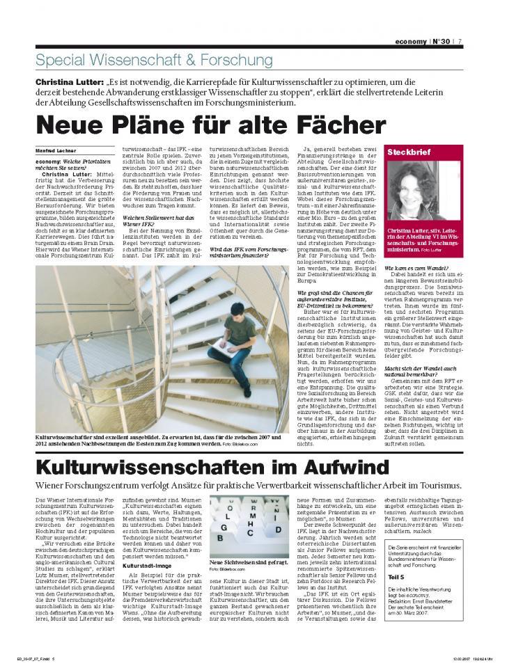 Heft Ausgabe Nr. 30 - Seite 7