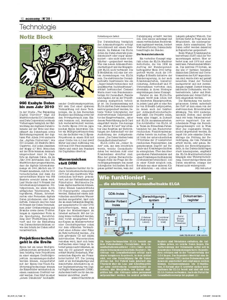 Heft Ausgabe Nr. 30 - Seite 10